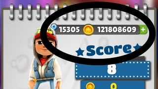 how to hack subway surfers in iOS  with 100 proof