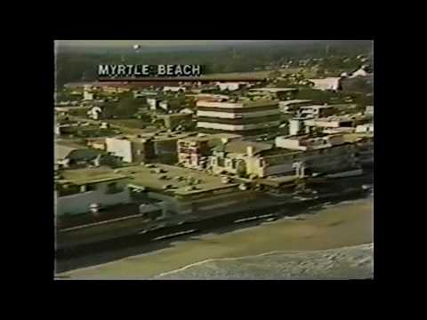 Sept 1989 - Myrtle Beach / Hurricane HUGO Aftermath Footage *RARE*