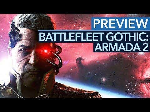 Battlefleet Gothic: Armada 2 - Геймплей с Gamescom 2018