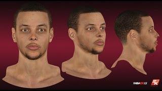 NBA 2K13 - Stephen Curry Cyberface