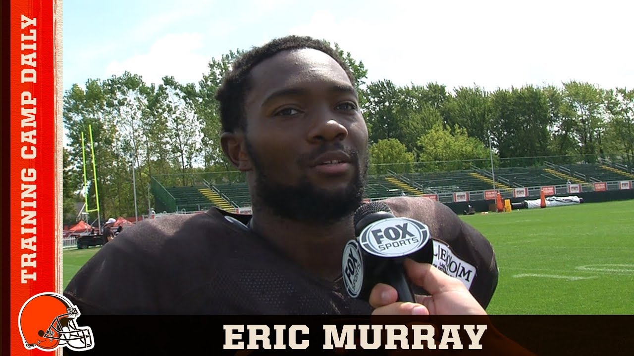 70eb3f4b Eric Murray Recaps Colts Matchup & Perfecting His DB Skills | Browns ...