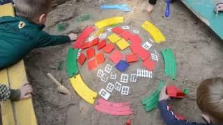 Что можно сделать с детьми младшей группы из песка