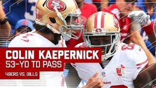 Colin Kaepernick Throws 53-Yard TD to Torrey Smith! | 49ers vs. Bills | NFL