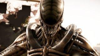 Mortal Kombat X - Alien Klassic Ladder Walkthrough and Ending (Acidic)