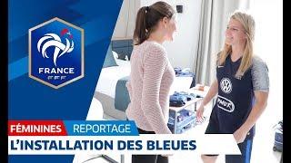 Equipe de France Féminine : l'arrivée des Bleues à Clairefontaine I FFF 2018