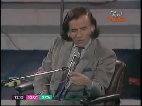 """Carlos Saúl Menem entrevistado en 1988 por Mario Mactas en """"Badía Estudio 88"""""""