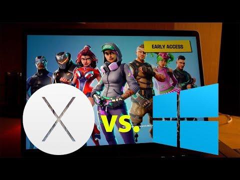 Fortnite On Windows 10 Vs MacOS