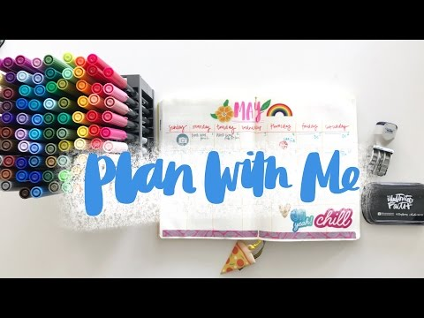 Plan With Me May | Bullet Journal