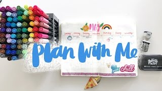 Plan With Me May   Bullet Journal