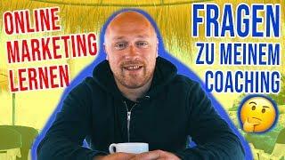 ONLINE MARKETING LERNEN - Die häufigste Frage zu meinem Online Marketing Coaching!
