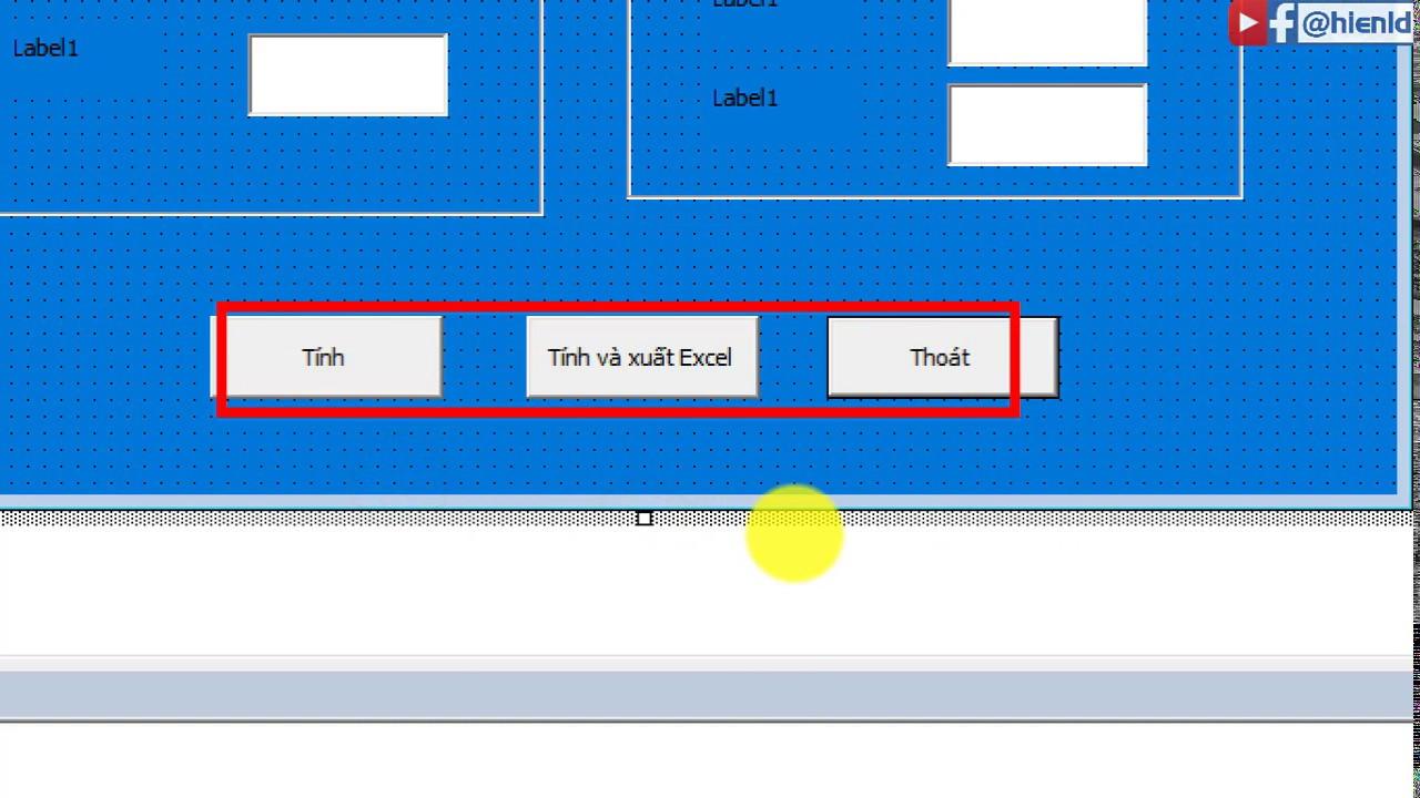 Bài giảng DA 1: Lập trình VBA tính đặc trưng hình học trên Excel