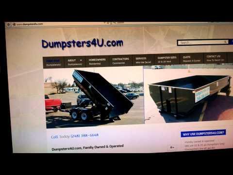 Rental Dumpster Livonia Michigan
