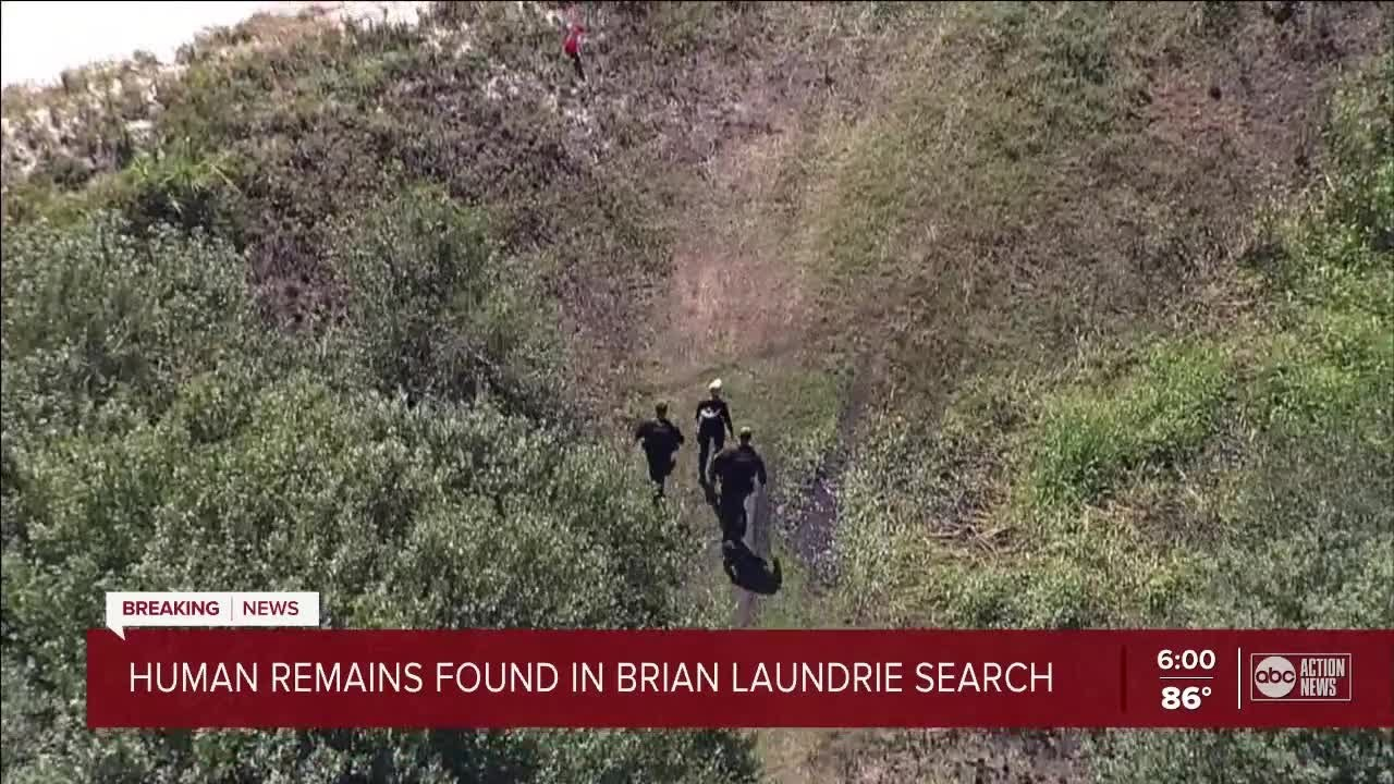 Potential human remains and items belonging to Brian Laundrie are ...