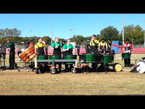 West Iredell High School Band Of Warriors Drumline 10/22/16