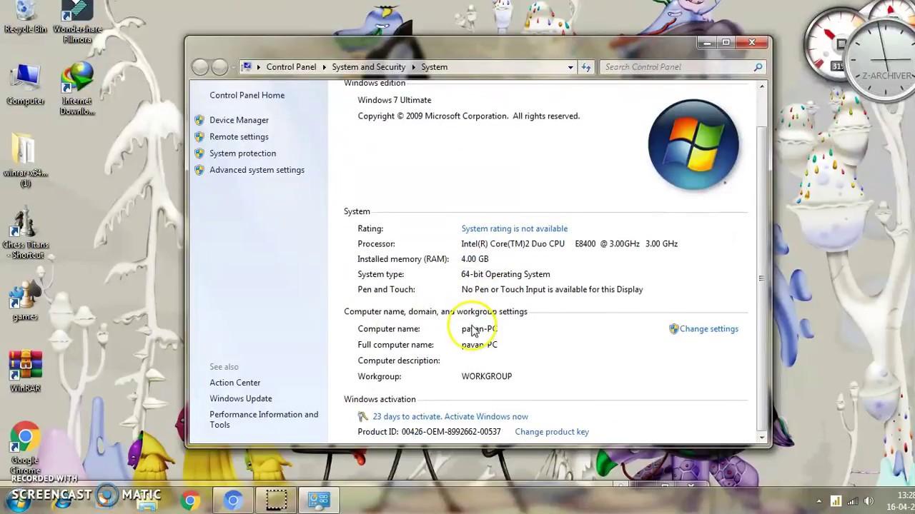 how to test ram windows 7