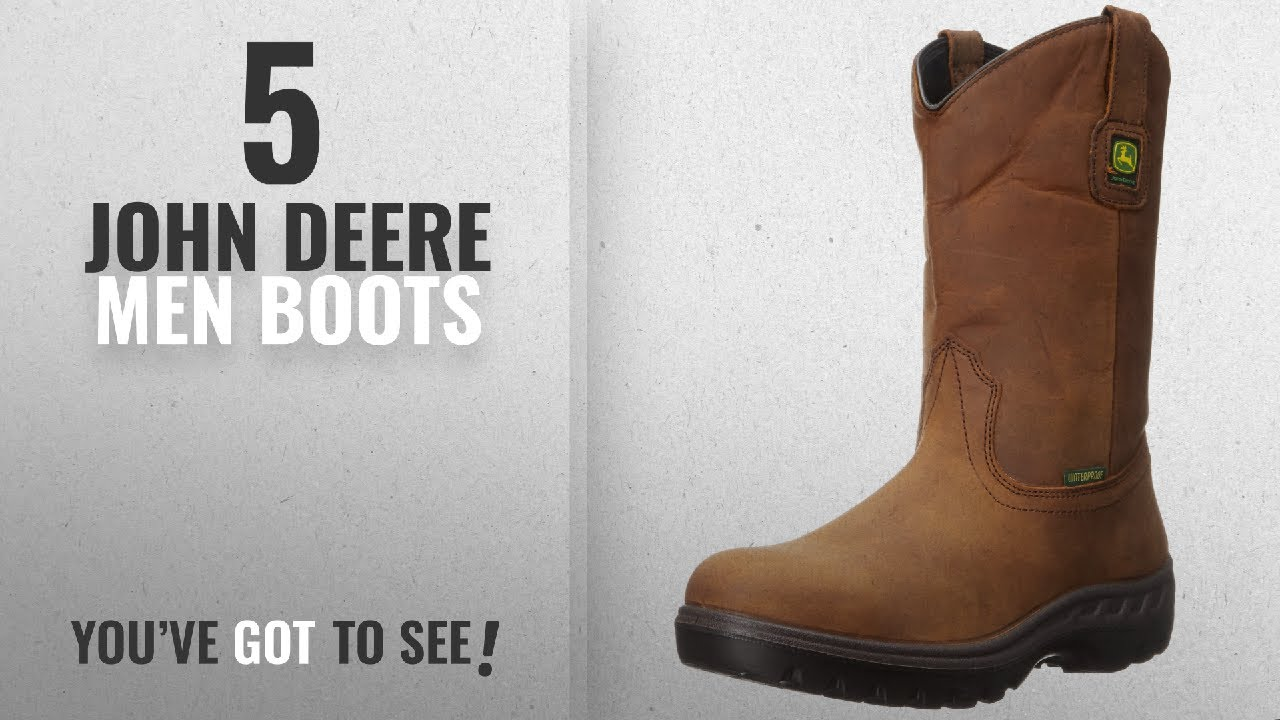 e89060272e0 Top 10 John Deere Men Boots [ Winter 2018 ]: John Deere JD4604 11