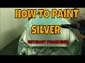 PPG paint- HOW-TO-PAINT SILVER PERFECTLY