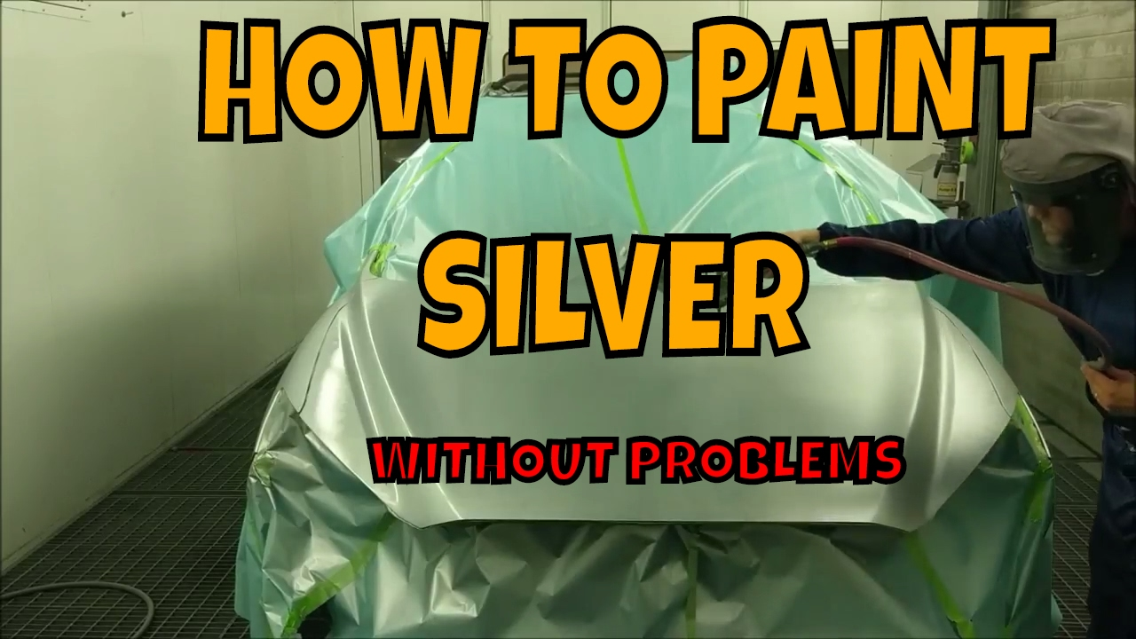 PPG paint- HOW-TO-PAINT SILVER PERFECTLY - YouTube