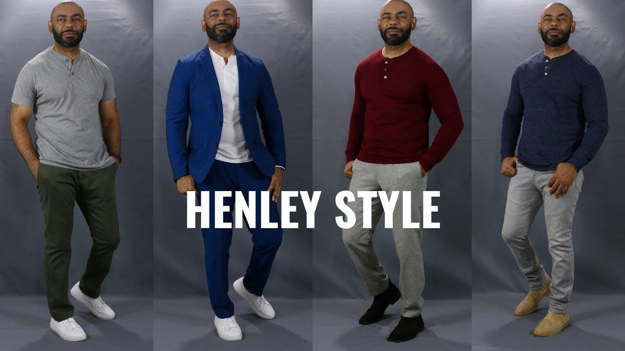 How To Wear A Henley Shirt