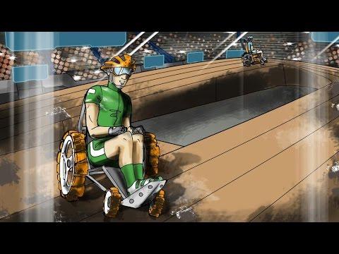 Cybathlon Powered Wheelchair Race first concept video