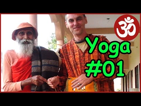 Swami Yogananda Sushma Vyayam class in Bangalore. 103 years old yogi from Rishikesh. Good quality.