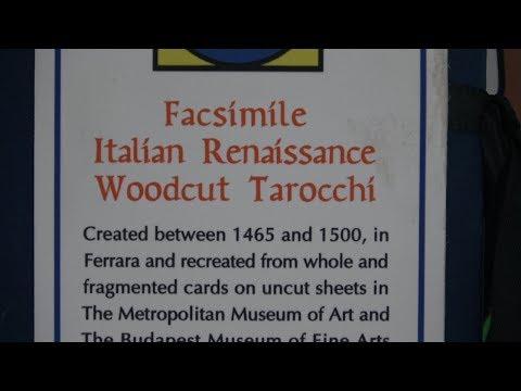 Facsimile Italian Renaissance Woodcut Tarocchi by Robert M. Place