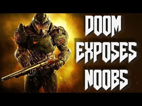DOOM Multiplayer Is SICK - Critics didn't know how to play...Sad! (Doom Multiplayer Gameplay Review)