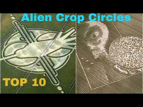 Top 10 Mysterious Alien Crop Circles In The World !! | ALIENS | UFOS | CROP CIRCLES