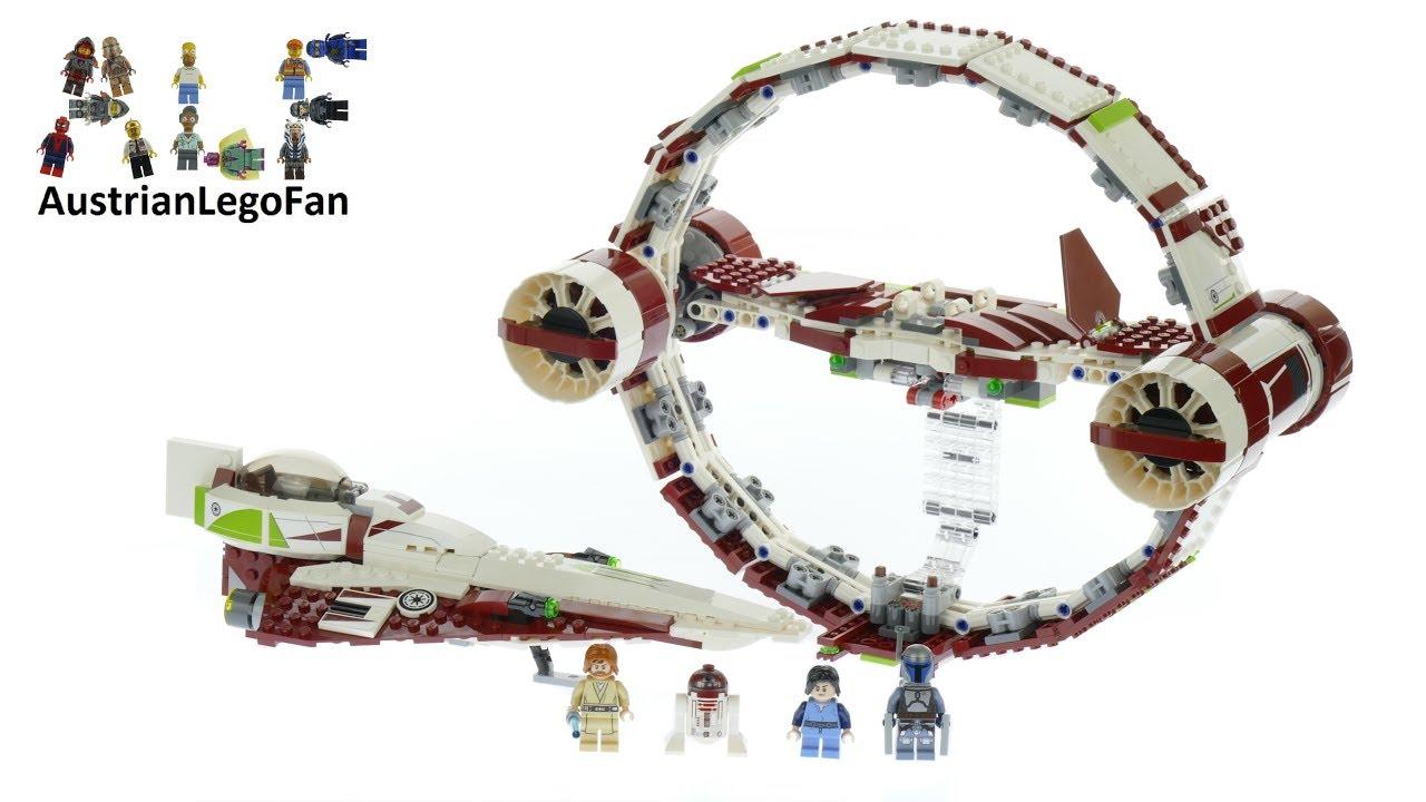 Lego Star Wars 75191 Jedi Starfighter With Hyperdrive ...