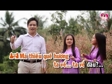 VỀ QUÊ l Karaoke Thanh Hằng ft Thanh Hà