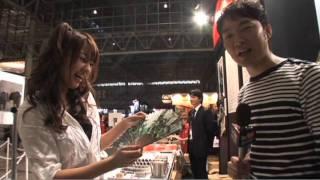エレキコミック・今立進とグラビアアイドル・松本さゆきによる、TGS2011...