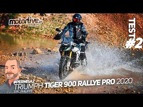 TRIUMPH TIGER 900 RALLYE PRO, PART 2 | TEST