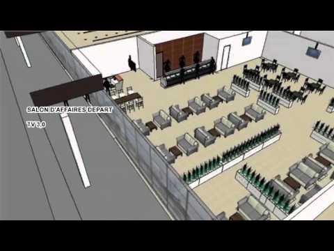 Murphy N'thul video airport Kinshasa