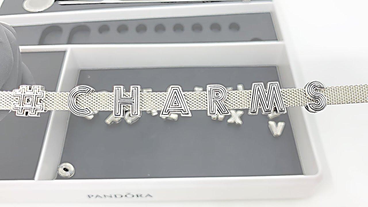 charm pour bracelet pandora reflexion
