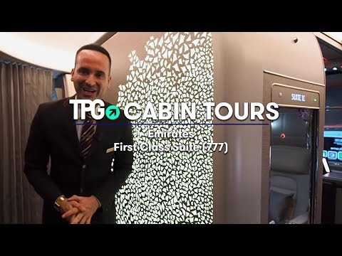 Cabin Tour: Emirates 777 Brand New First Class Suite