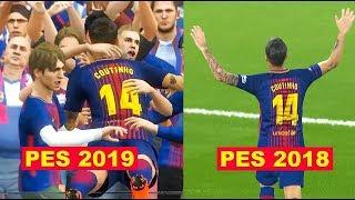 PES 2019 Türkiye Ligi ve Diğer Tüm Yenilikler! (Ofiste Büyük Maç)