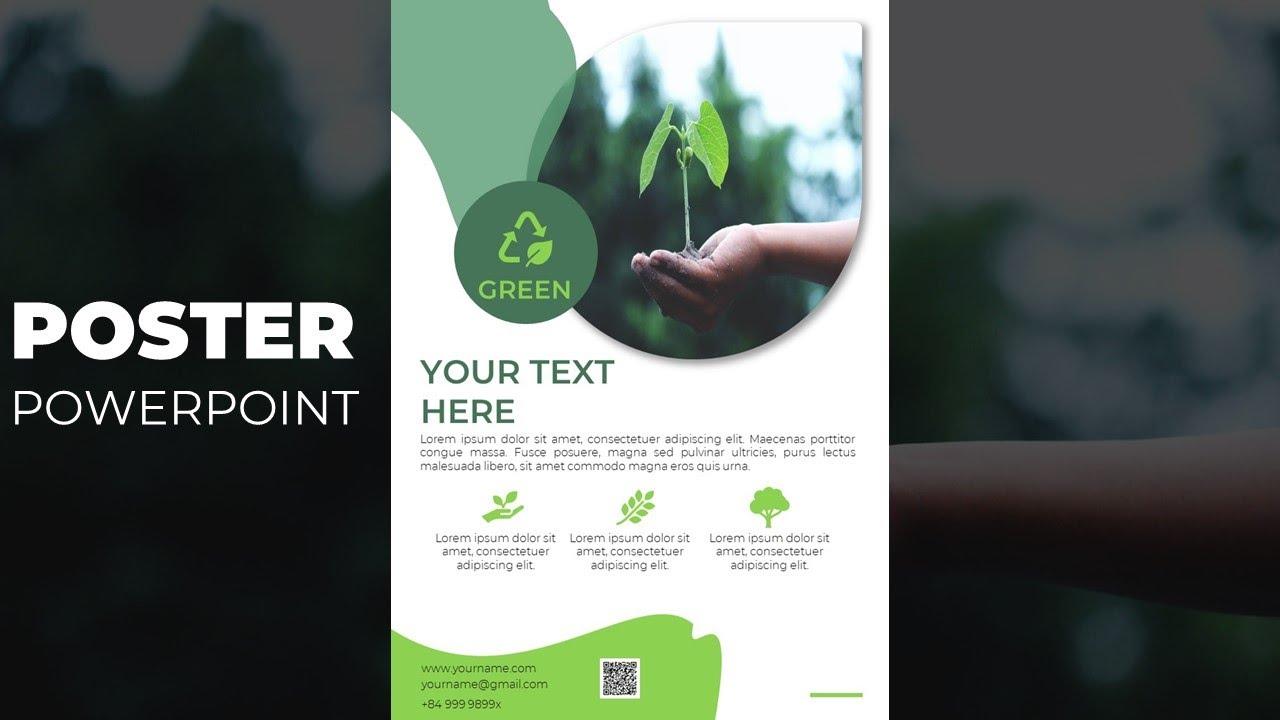 Hướng dẫn thiết kế poster bằng powerpoint