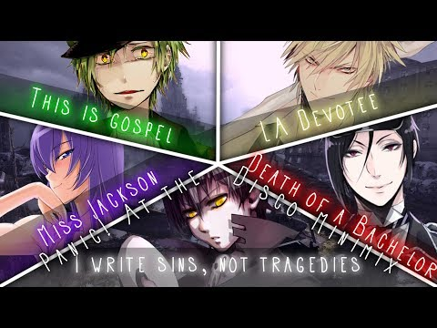 ◤Nightcore◢ ↬ MINIMIX Panic! At the Disco [Switching Vocals | MINIMIX]