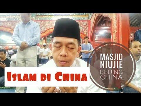 shalat-jum'at-di-masjid-niujie-beijing-china