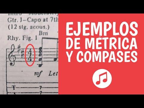 6. Compases y Métricas Musicales Explicados con Ejemplos [4/4, 3/4, 6/8...] (Teoria Musical Fácil)