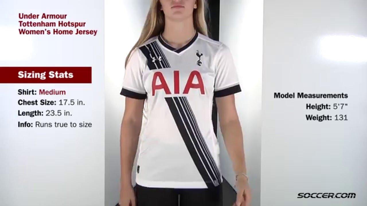 Under Armour Tottenham Hotspur Women s Home Jersey - YouTube d8a0117a06