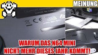 Warum das N64 Mini nicht mehr in diesem Jahr erscheint - #MeinSenf
