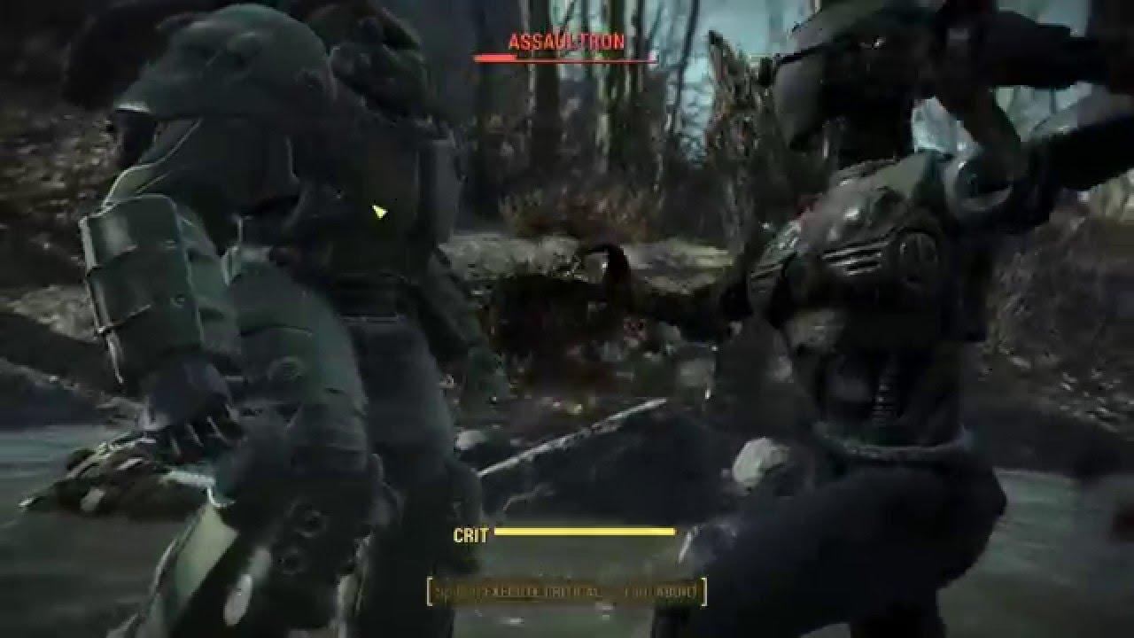 Fallout 4 Power Armor Tesla Bracers YouTube