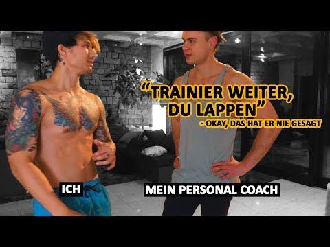Meine Training mit meinem Personal Coach Jas