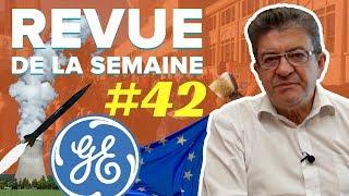 #RDLS42 : GENERAL ELECTRIC, DRAPEAU EUROPÉEN, NUCLÉAIRE CIVIL ET MILITAIRE