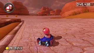 Bone-Dry Dunes - 1:47.447 - ダ (Mario Kart 8 World Record)