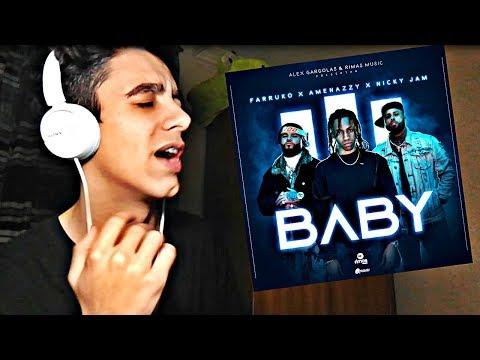 (REACCIÓN) Baby - Nicky Jam X Farruko X Amenazzy ( Video Oficial )