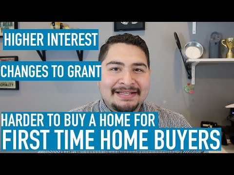HUGE Changes for First Time Home Buyer Loan Programs (March 2018)