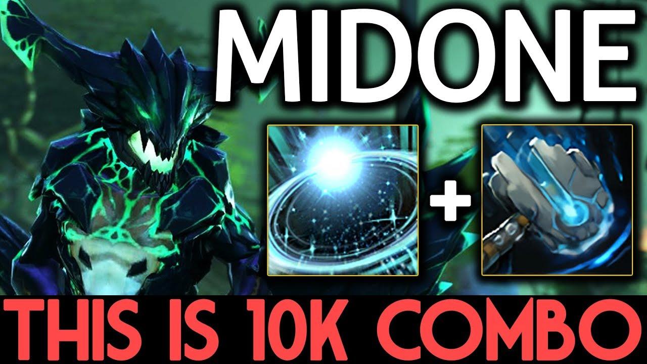 Midone Dota  Outworld Devourer This Is K Mmr Combo