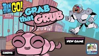 Teen Titans Go!: Grab That Grub - Take Silkie for a Walk in the Park (Cartoon Network Games)